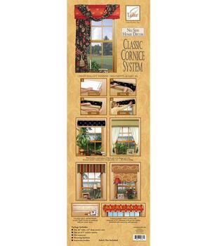 June Tailor No Sew Home Decor Classic Cornice System