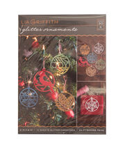 Lia Griffith Glitter Ornament Set, , hi-res