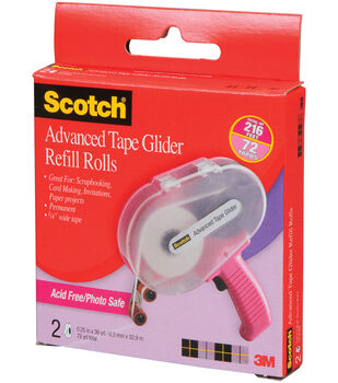 how to fix scotch advanced tape glider