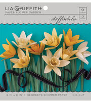 Lia Griffith Paper Flower Garden-Daffodils, , hi-res