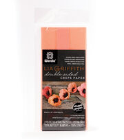 Lia Griffith 9.8''x49.2'' Double Sided Crepe Paper-Shades of Coral, , hi-res
